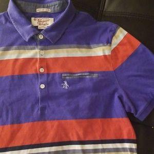 EUC VINTAGE ORIGINAL PENGUIN Striped Polo